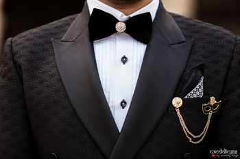 Unique groom accessories for reception