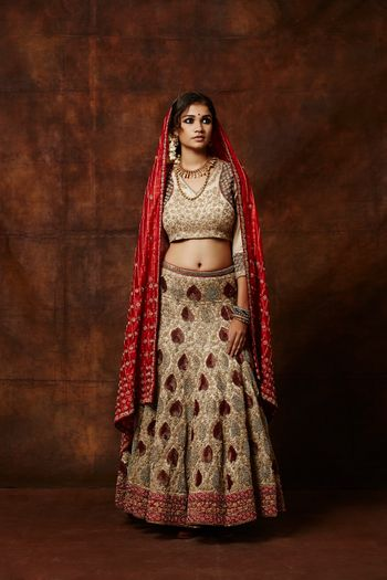 Photo of traditional bridal lehenga