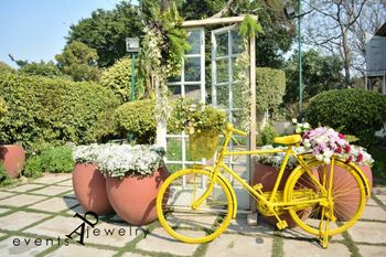 Photo of bicycle prop