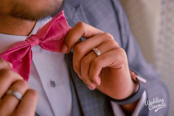 Photo of Groom wear ideas with pink bow tie