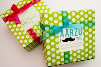 boxes for bridesmaids. WIll you be my bridesmaid box
