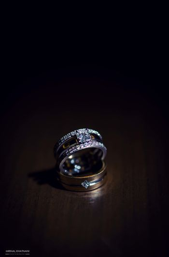 Photo of Solitaire engagement ring his and hers