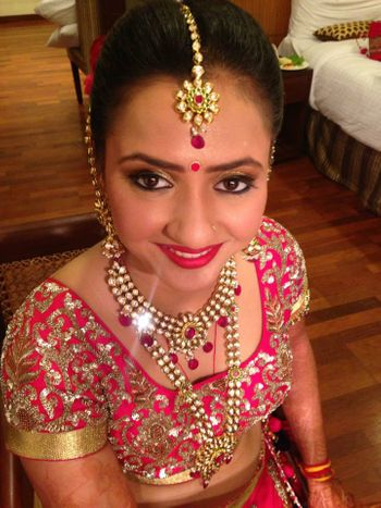 Photo of Bridal Makeup by Pooja Sethi