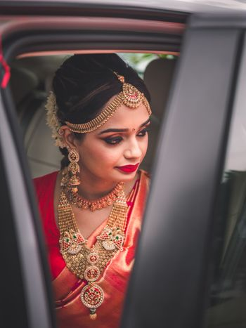 Unique south indian jewellery with a mix of gold and diamond and mathapatti