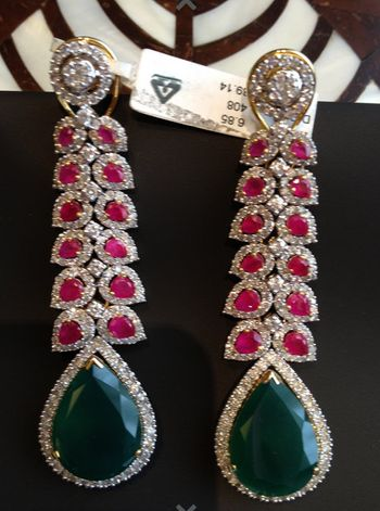 Photo of emerald and rubies
