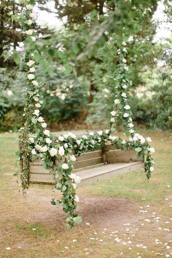 Fairytale decor swing idea