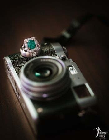 Engagement Rings on a Camera