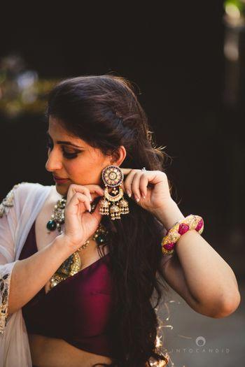 Photo of jhumki earrings