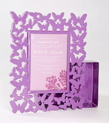 Photo of purple card