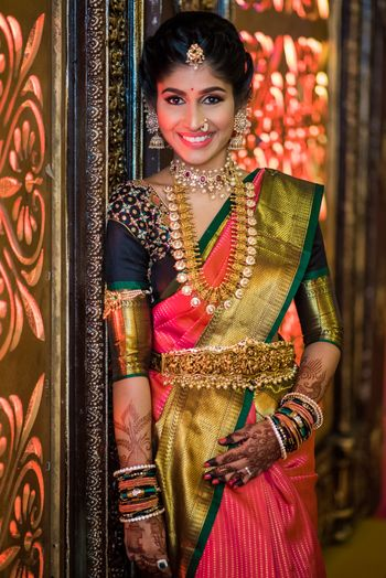 Temple jewellery waist belt South Indian bride