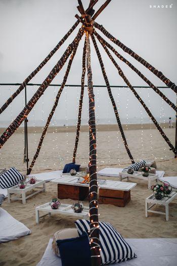 Beach picnic theme decor party