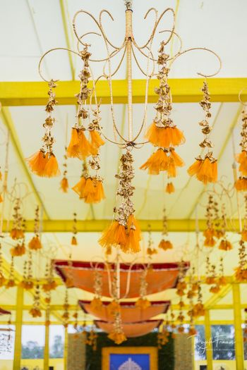 Photo of Hanging decor with gota and tassles