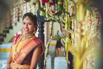 Photo of Stunning south indian bridal portrait