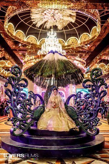 Grand bridal entry idea