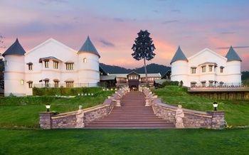 A castle venue for a destination wedding.