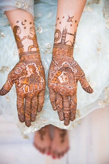 Photo of mehendi designs