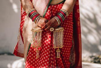 Unique bridal single kaleera