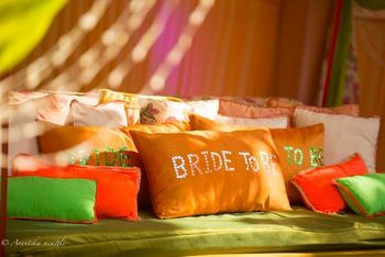 Bride to be cushion for the mehendi