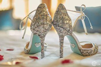 Bridal shoes with unique sole