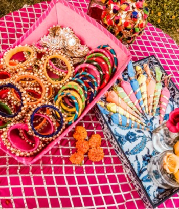 Mehendi favours and cones