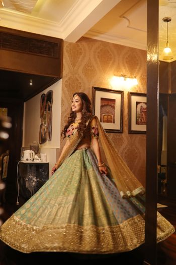 Photo of Flared sangeet lehenga