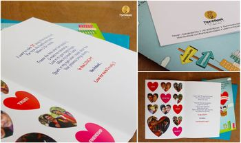 Photo of quirky invitations