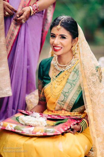 south indin bridal makeup