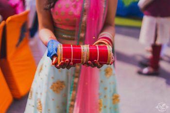 Bridal chura photo