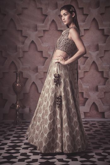 Photo of banarsi silk lehenga