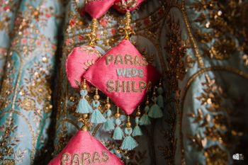Personalised bridal latkans with names