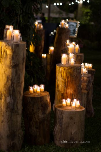 Photo of candle light