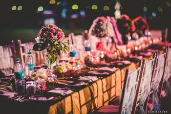Pink Themed Table Decor