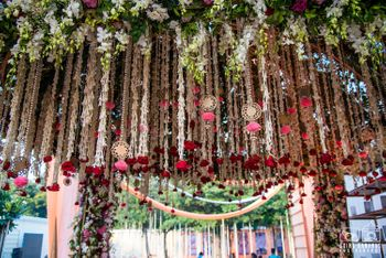Photo of Pretty hanging floral and pearl strings