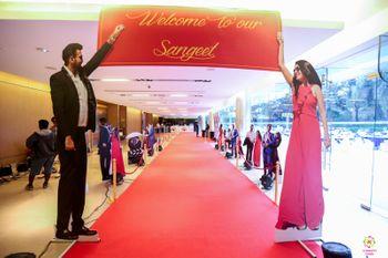 sangeet entrance decor