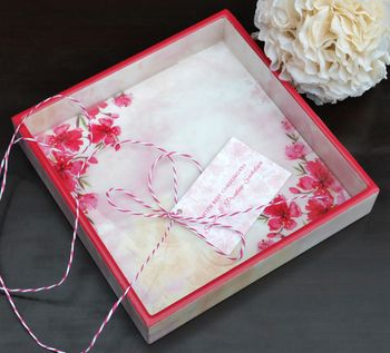 Photo of invitation tray