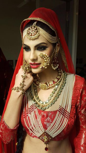 Gold Mathapatti with Pearls Rani Haar