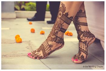 Photo of gladiator style mehendi