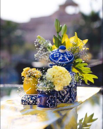 Ceramic pottery decor for DIY