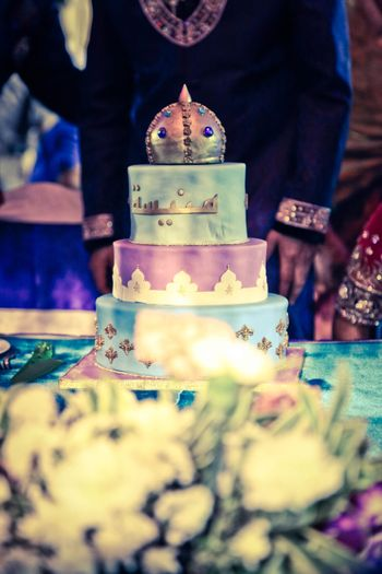 Photo of arabian night themed cake