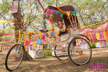 Photo of bicycle rickshaw