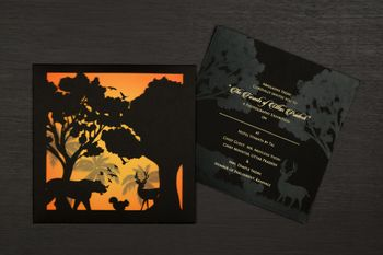Photo of Shadow box invitation