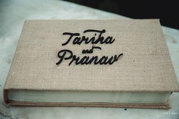 Wedding day personalised diary idea