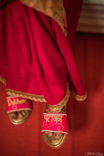 Dulhan slippers for bride