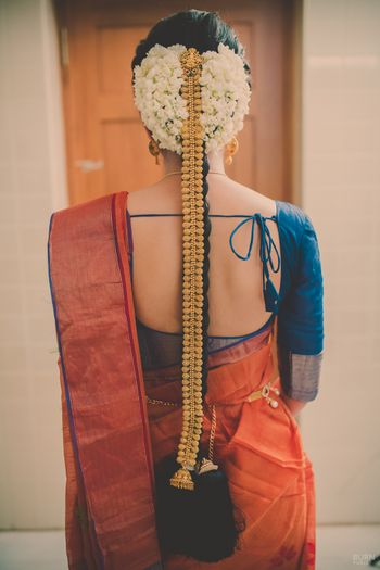 Photo of South Indian bridal haistyle