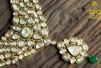 Photo of bridal necklace polki