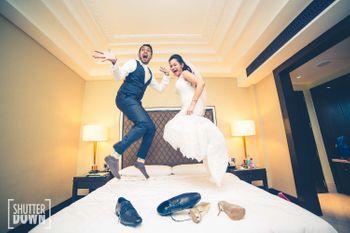 post wedding shot