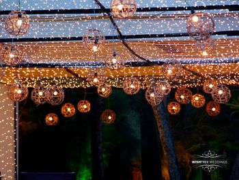 Fairy Lights Ceiling with Tea Bulbs Decor