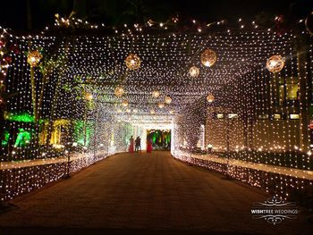 Photo of Fairy Lights Ceiling Entrance Decor