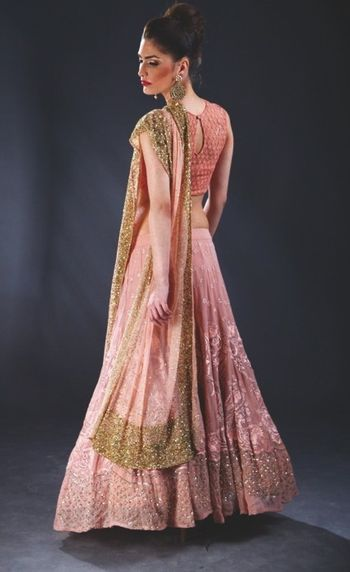 threadwork lehenga
