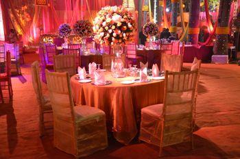 floral table centerpiece